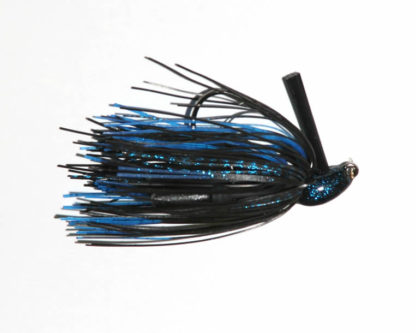 3/8 oz, Black/Blue