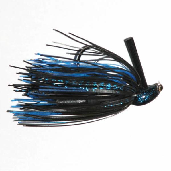 3/8 oz, Black/Blue