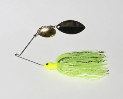 Chartreuse, R wire, Tandem, Turtleback, NICKEL/gold