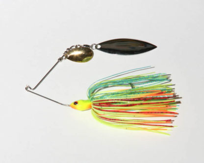 1/4 oz., Firetiger, R wire, Tandem, Willow, NICKEL/gold